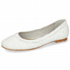 Ballet Pumps Kate 5 Woven White