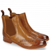 Ankle boots Selina 6 Pisa Tan Perfo