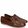 Loafers Mandy 1 Interlaced Scale Tan