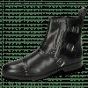 Ankle boots Susan 45 Soft Patent Black Rivets Buckle