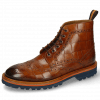 Ankle boots Matthew 7 Turtle Cognac Loop Orange Brown