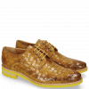 Derby shoes Brad 7 Woven Yellow Lining
