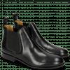 Ankle boots Sally 25 Rio Black Elastic Black Lining Rich Tan