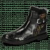 Ankle boots Amelie 67 Crock Black Textile Tweed Black Gold
