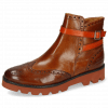 Ankle boots Xanyia 1 Venice Wood Strap Winter Orange