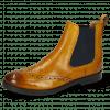 Ankle boots Amelie 5 Cognac Elastic Blue