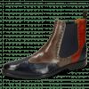 Ankle boots Martin 5 Navy Stone Winter Orange