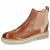 Ankle boots Amelie 5 Imola Make Up Jute Linen Dice