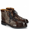 Ankle boots Trevor 18 Crock Mid Brown Hairon Halftone