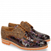 Derby shoes Brad 7 Woven Multi 7 Textile Pixel Orange