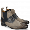 Ankle boots Rico 23 Venice Crock Stone Navy Suede Pattini Marmotta