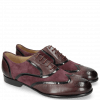 Oxford shoes Sally 38 Deep Pink Patent Oriental Suede Chilena