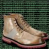 Ankle boots Eddy 26 Turtle Smoke Suede Pattini Tortora