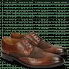 Derby shoes Victor 2 Rio Mid Brown Suede Chocolate Tex Blue