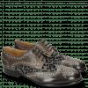 Derby shoes Sally 53 Grigio Leo Glitter