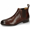 Ankle boots Sally 16 Mogano Elastic Dark Brown