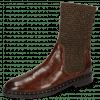 Ankle boots Susan 69 Turtle Dark Brown Textile Brina Mokka