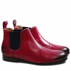 Ankle boots Sally 16 Salerno Dark Pink Elastic Navy HRS