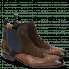 Ankle boots Rico 12 Venice Crock Mid Brown Suede Pattini Dark Brown Venice Crock Navy