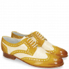 Derby shoes Sally 66 Vegas Sun Perfo White
