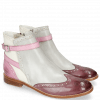 Ankle boots Amelie 11 Vegas Purple Tentacle Oxygen White Strap
