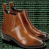 Ankle boots Kylie 1 Wood Elastic Dark Brown