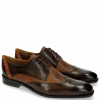 Derby shoes Xabi 1 Berlin Haina Dark Brown