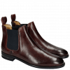 Ankle boots Susan 10 Rio Burgundy Elastic Navy