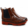 Ankle boots Amelie 5 Rocco Tan Tan Elastic Navy Iron Red