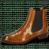 Ankle boots Betty 1 Cognac Elastic Dark Brown