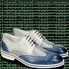 Derby shoes Kane 5 Vegas Mock Navy Grafi Silver Blue Digital