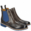 Ankle boots Selina 6 Grigio Shade Electric Blue Elastic Electric Blue