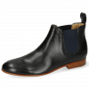 Ankle boots Sally 16 Imola Black Elastic Navy
