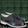 Derby shoes Kane 5 Lycra Navy Nubuck Deep Navy