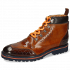Ankle boots Trevor 5 Crock Mid Brown Tan Nappa