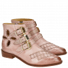 Ankle boots Marlin 28 Rosa Rivets Gold