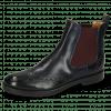 Ankle boots Amelie 5 Venice Navy Elastic Burgundy