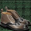 Ankle boots Sally 30 Stone Fermont Gunmetal Camo Glitter Navy