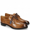 Derby shoes Betty 2 Make Up Tassel Moroccan Blue RS Black