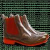 Ankle boots Amelie 5 Ash Shade Sun Elastic Orange