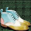 Ankle boots Sally 30 Vegas Olivine Idra Platino Perfo White Mermaid Skin