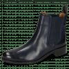 Ankle boots Xsara 1 Venice Navy Elastic Navy Rubber Navy