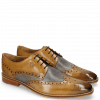 Derby shoes Martin 15 Berlin Moroccan Blue Perfo Oxygen