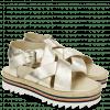 Sandals Celia 25 Cherso Plain Bisque