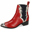 Ankle boots May 1 Guana Ruby Snake Off White
