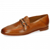 Loafers Scarlett 45 Pavia Tan Binding Fluo Orange
