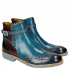 Ankle boots Amelie 11 Sky Blue Turquoise