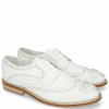 Derby shoes Matthew 4 Milled White Rivets