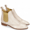 Ankle boots Jessy 4 Nappa Glove Pink Salt Perfo Elastic Nude
