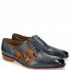Oxford shoes Clark 6 Moroccan Blue Dragon
